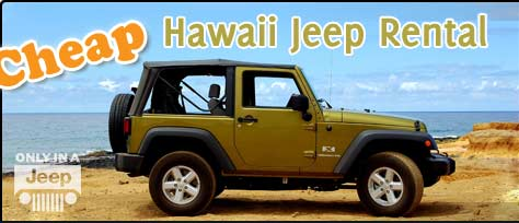 Cheap Hawaii Jeep Rental